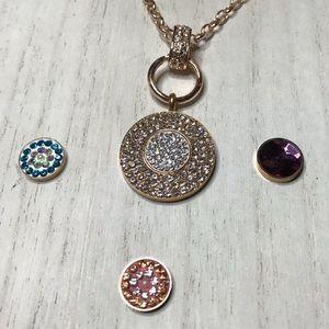 Jewelry - 7 pc Interchangeable Necklace Set